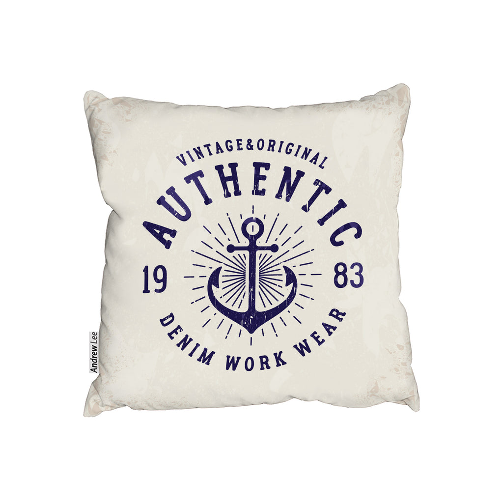 New Product Vintage Anchor Logo (Cushion)  - Andrew Lee Home and Living