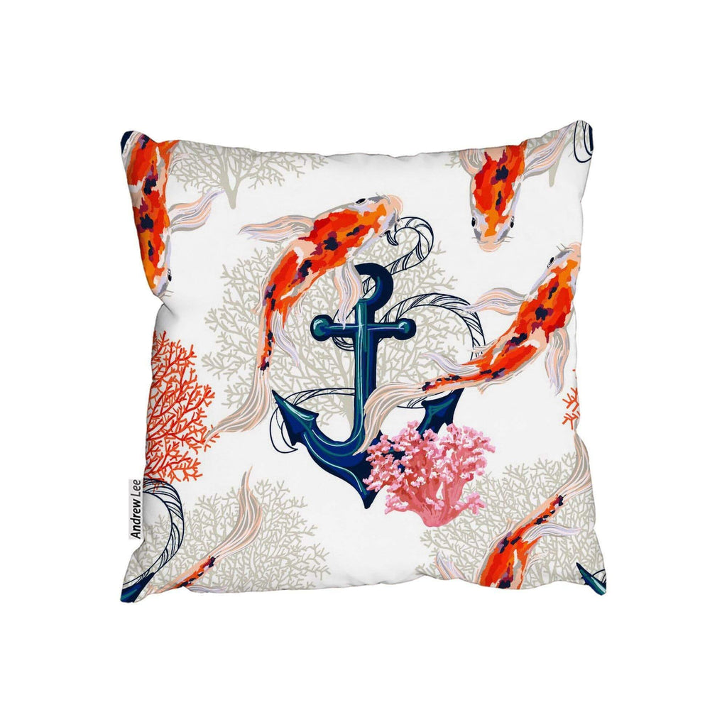 New Product Anchor & Fish (Cushion)  - Andrew Lee Home and Living