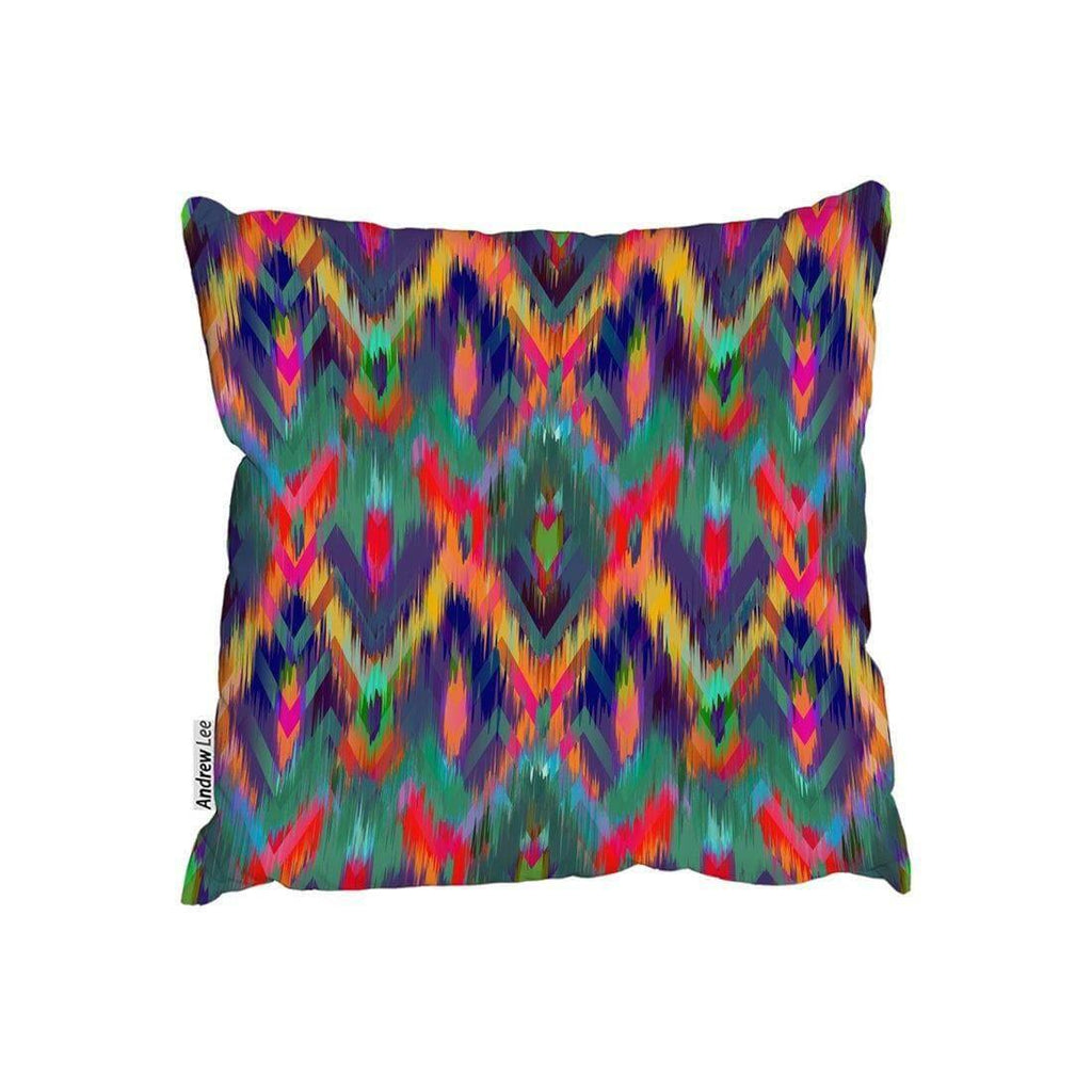 New Product Abstract ethnic ikat pattern (Cushion)  - Andrew Lee Home and Living