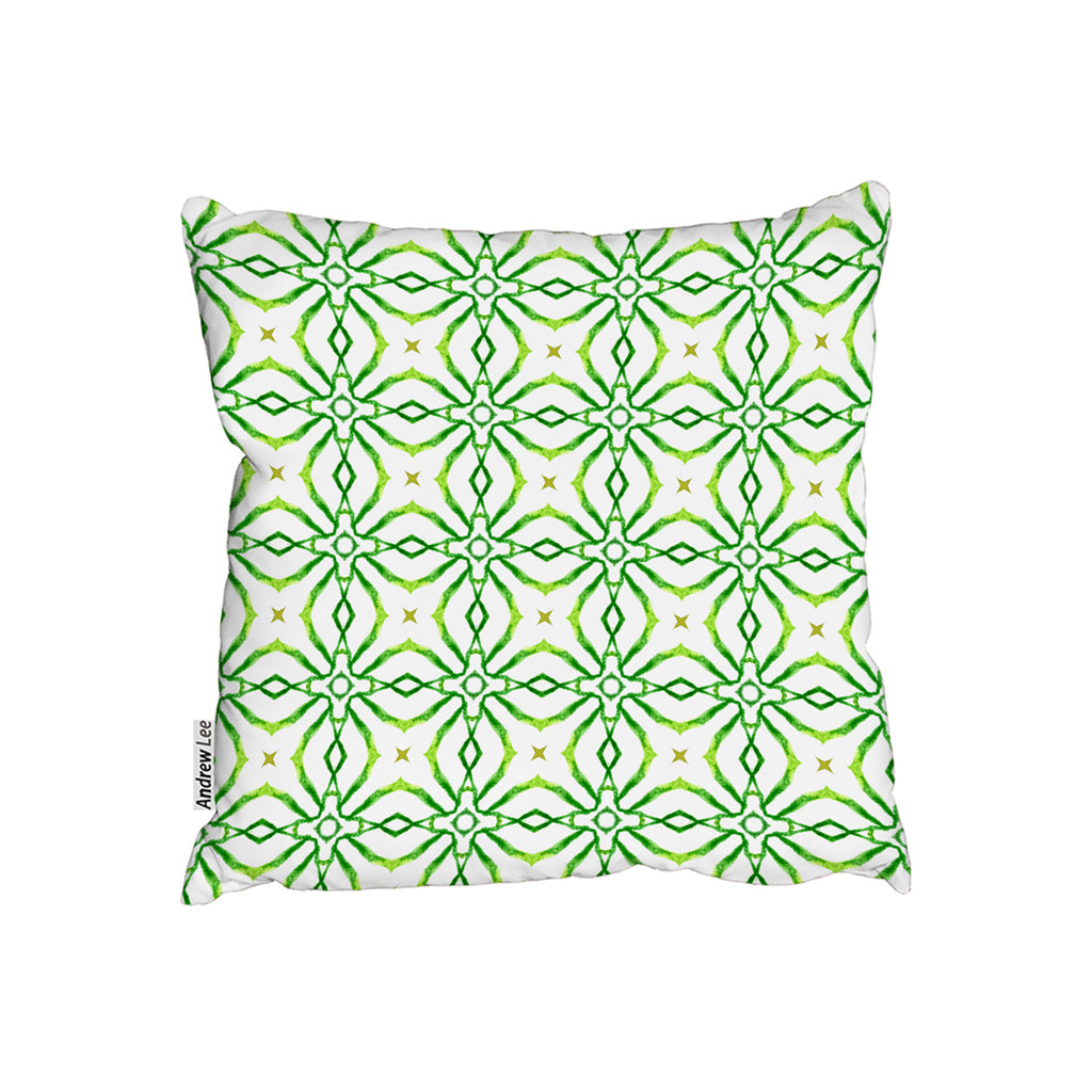 New Product swimwear fabric Green alluring boho chic (Cushion)  - Andrew Lee Home and Living