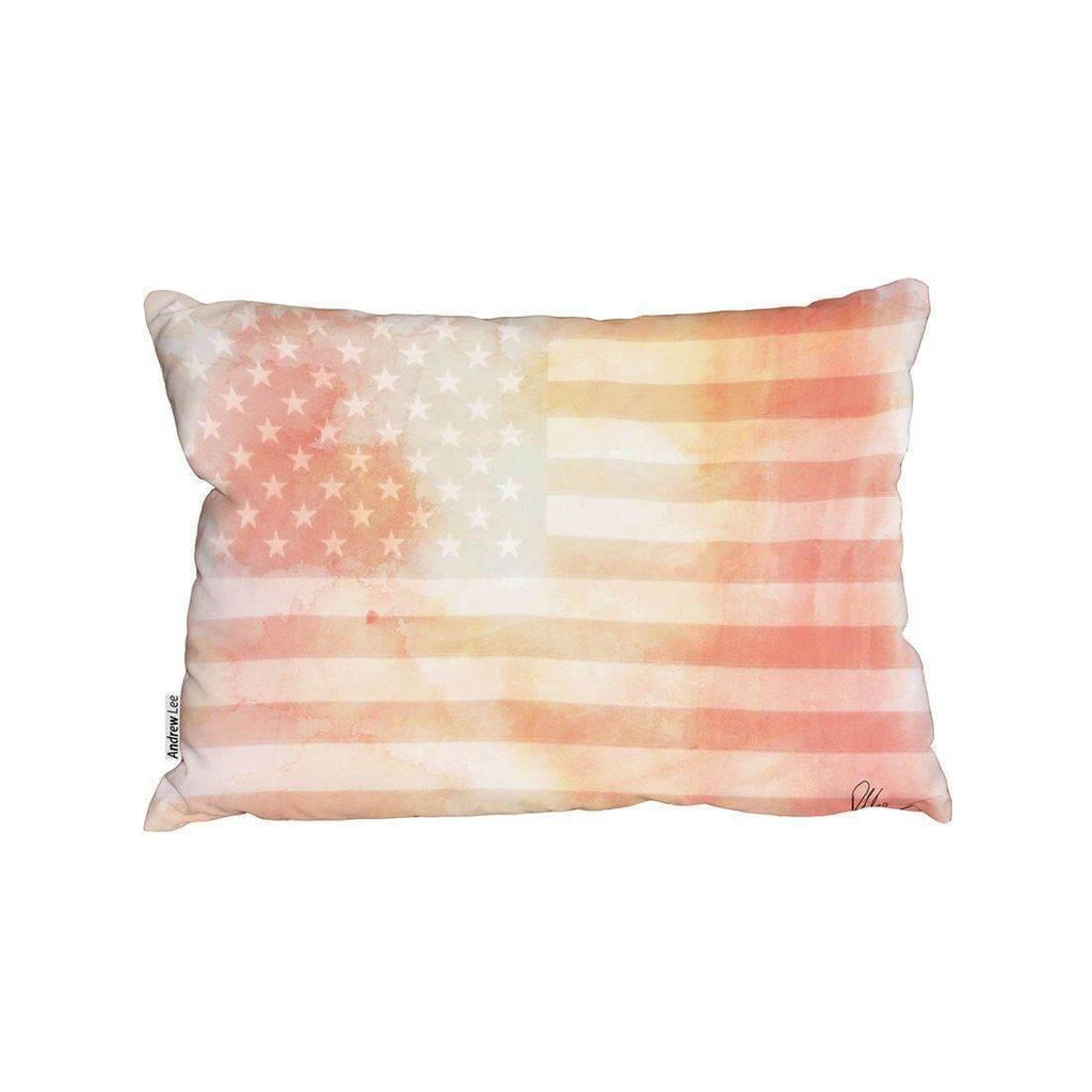 New Product American Flag Subtle (Cushion)  - Andrew Lee Home and Living