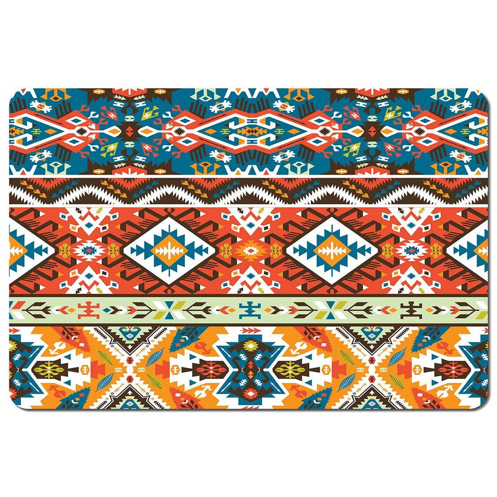 New Product Seamless colorful pattern in tribal style (Placemat)  - Andrew Lee Home and Living