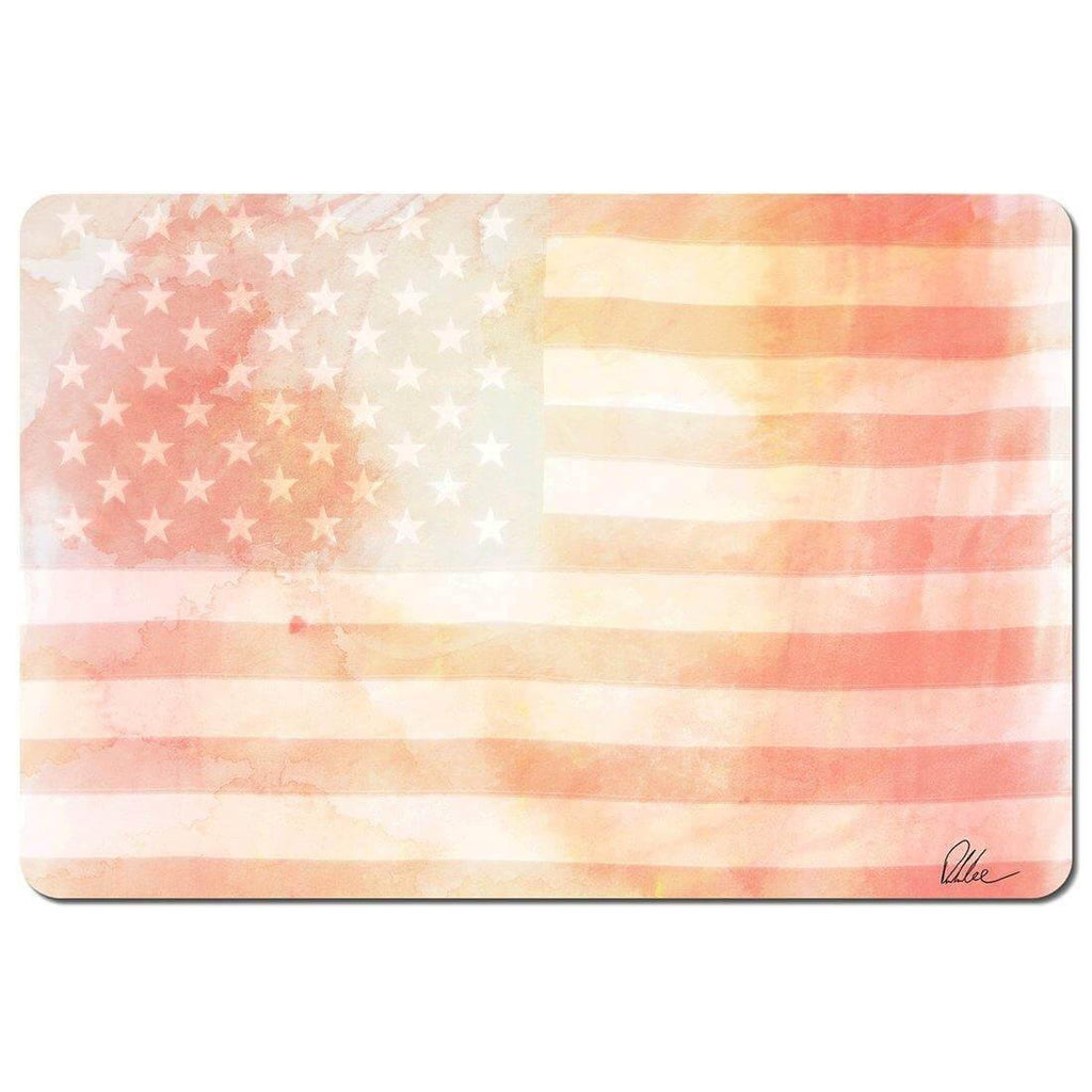 New Product American Flag Subtle (Placemat)  - Andrew Lee Home and Living