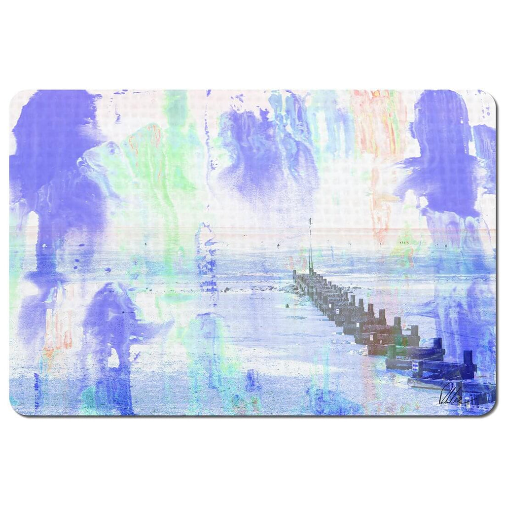 New Product beach BLUE (Placemat)  - Andrew Lee Home and Living