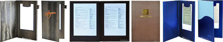 lighted menus