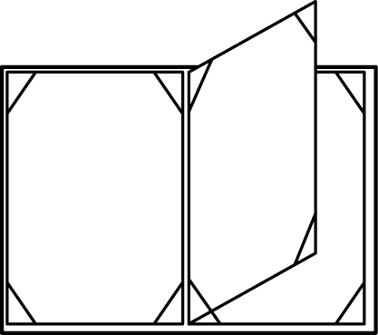 One Center-leaf Panel: 4 Views