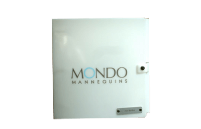 Poly binder with aluminum medallion riveted to the front and two color screened logo.
