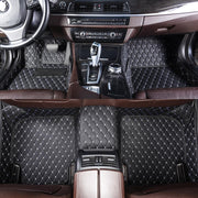 Diamante Auto Mats Black & White
