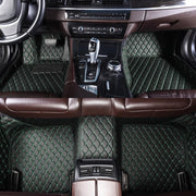 Diamante Auto Mats Black & Green