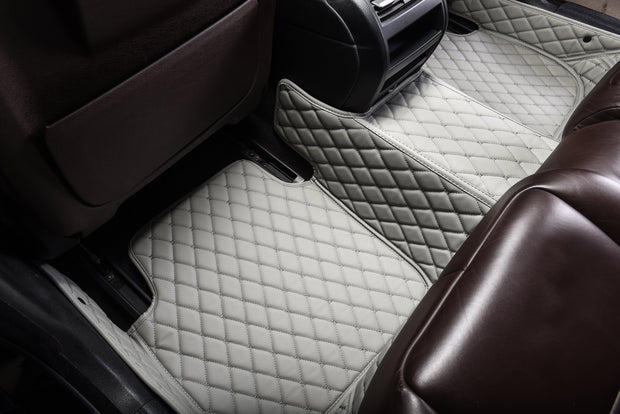 Diamante Auto Mats Light Gray