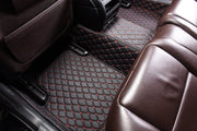 Diamante Auto Mats Black & Red