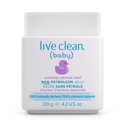 Live Clean Baby Soothing Oatmeal Relief Non Petroleum Jelly