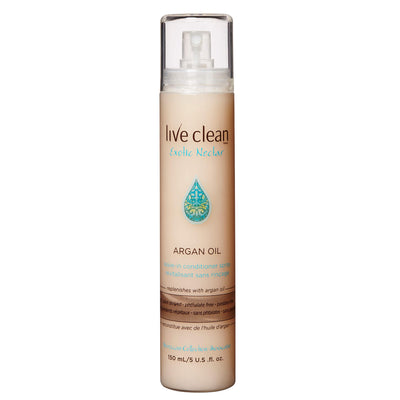 Live Clean Argan Oil Leave-In Conditioner Spray