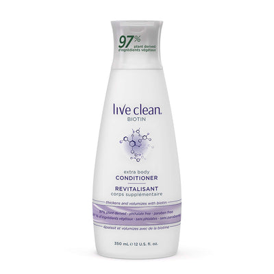 Live Clean Biotin Extra Body Conditioner