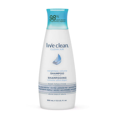 Live Clean Clean Air Weightless Volume Shampoo