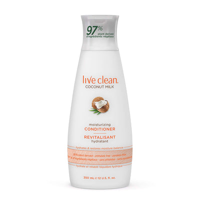 Live Clean Coconut Milk Conditioner Moisturizing