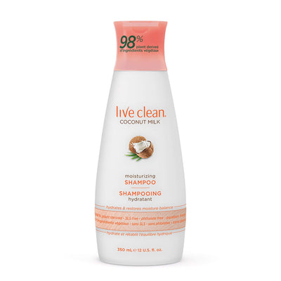 Live Clean Coconut Milk Moisturizing Shampoo