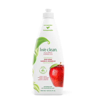 Live Clean Fuji Apple Dish Soap