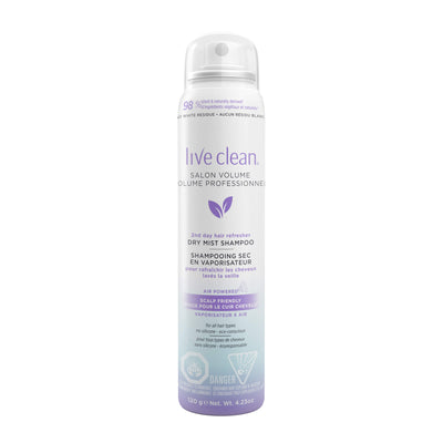 Live Clean Salon Volume Dry Mist Shampoo