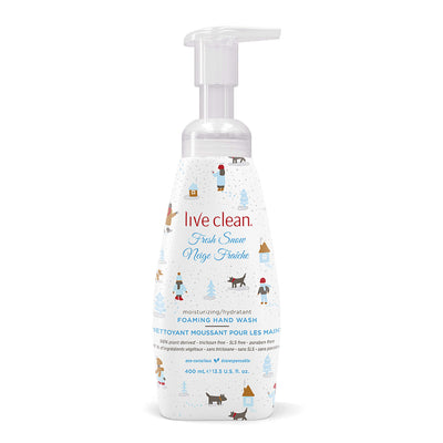 Live Clean Fresh Snow Foaming Hand Wash