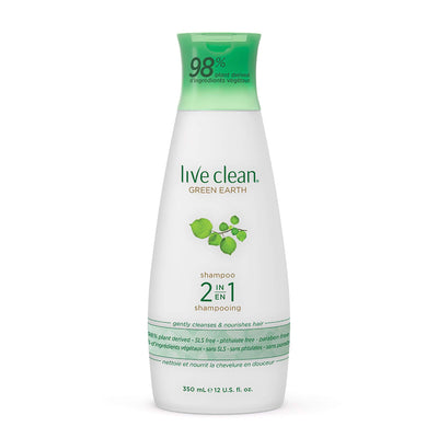 Live Clean Green Earth 2 in 1 Shampoo and Conditioner