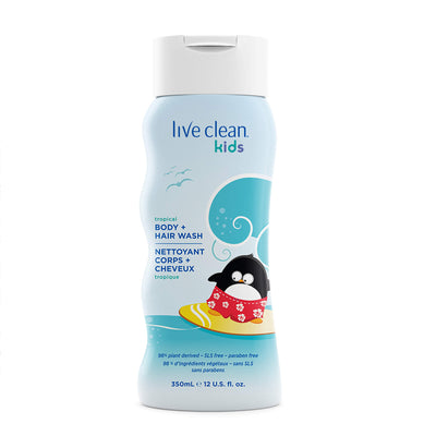 Live Clean Kids Tropical Body and Hair Wash