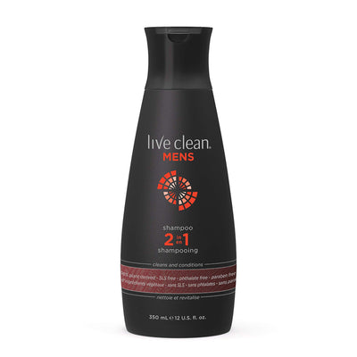 Live Clean Men's 2-In-1 Shampoo