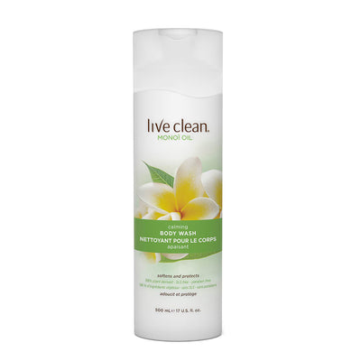 Live Clean Exotic Vitality Monoi Oil Calming Body Wash