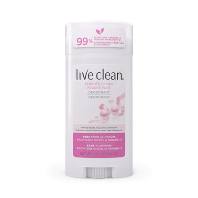 Live Clean Powder Clean Deodorant