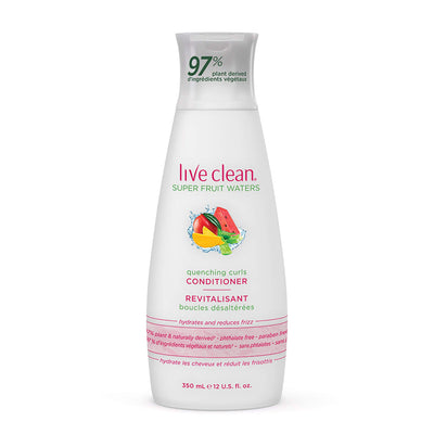Live Clean Super Fruit Waters Quenching Curls Conditioner