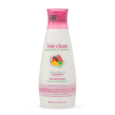 Live Clean Super Fruit Waters Quenching Curls Shampoo
