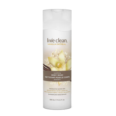 Live Clean Soothing Vanilla Oatmeal Body Wash