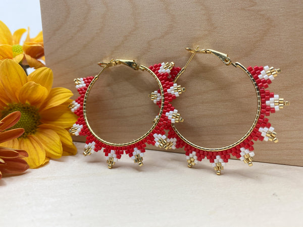 Chiefs Spiked Hoops