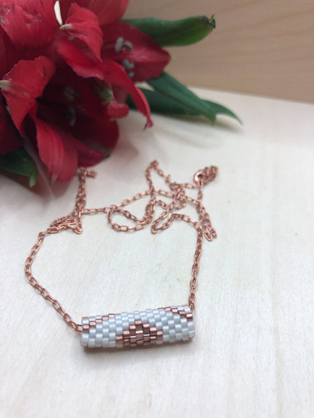 Copper Tube Necklace