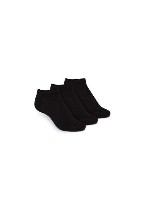 Black Socks Low 3 Pack