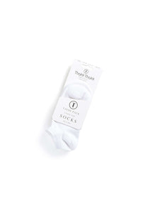 White Socks Low 3 Pack