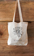 Load image into Gallery viewer, Shopping Tote Flower