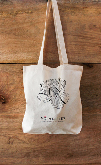 Shopping Tote Flower