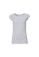 Load image into Gallery viewer, Thokk Thokk Cap Sleeve Tee Grey