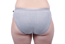 Load image into Gallery viewer, Etiko Bikini Undies Grey Back