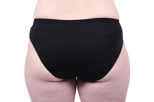 Etiko Bikini Undies Black Back