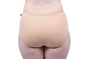 Etiko Full Brief Undies Tan Back