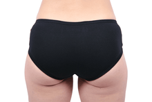 Load image into Gallery viewer, Etiko Boyleg Undies Black Back