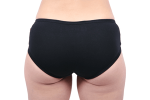 Etiko Boyleg Undies Black Back