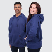 Load image into Gallery viewer, Etiko Navy Pocket Hoodie