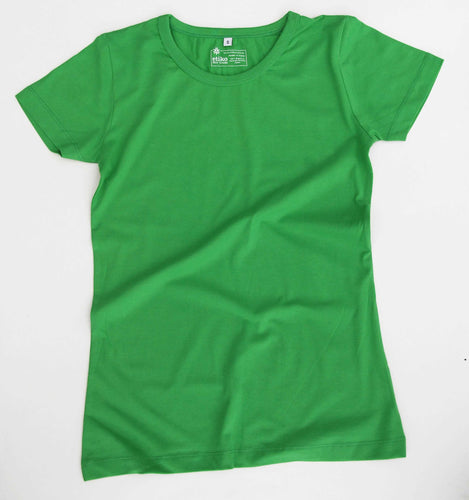 Etiko Women's Fairtrade T-shirt Green