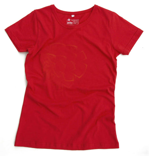 Etiko Women's T-shirt Red