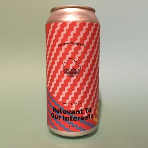 Cloudwater - Relevant to our Interest