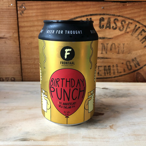 Frontaal - Birthday Punch