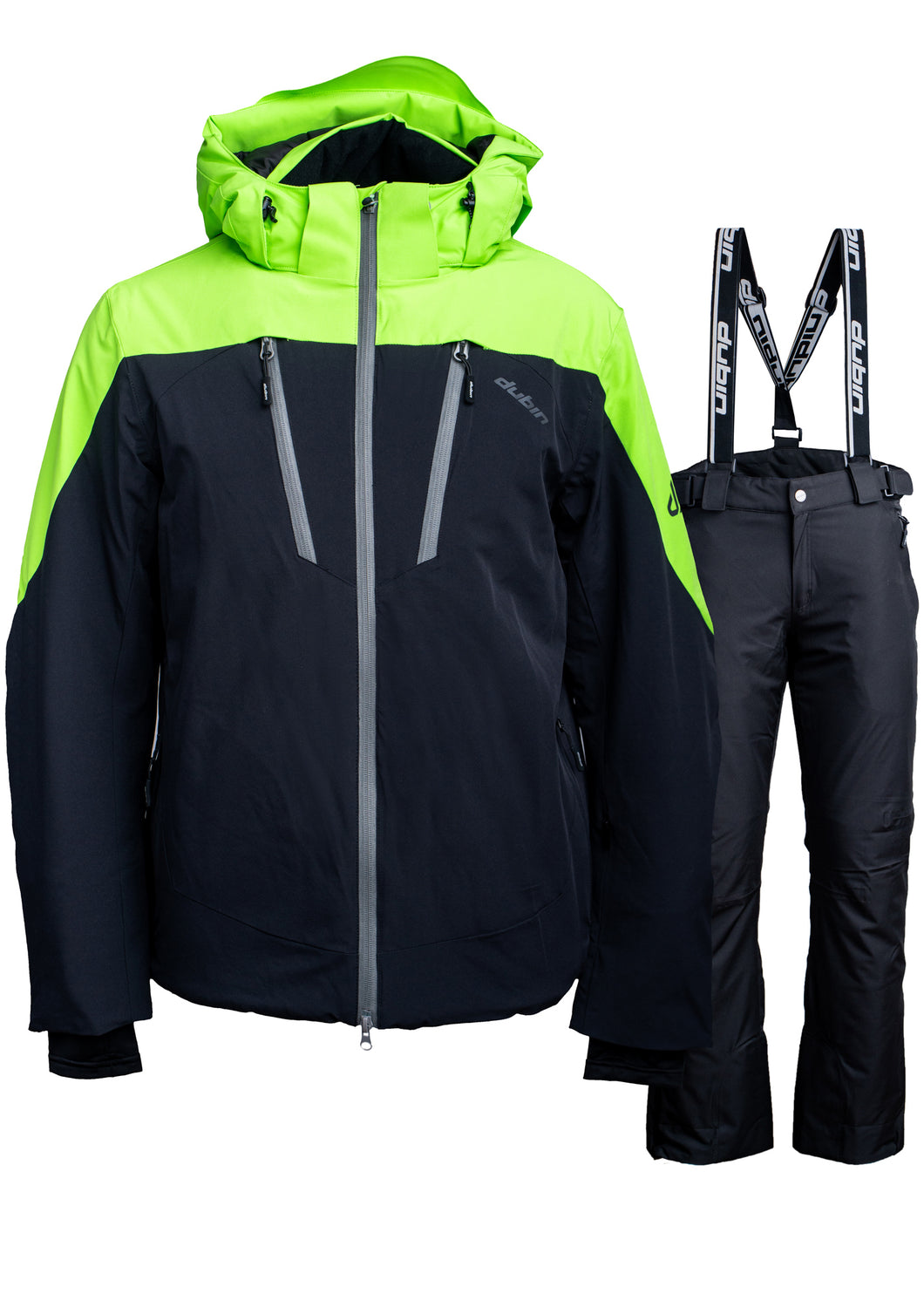 SET SCI SKIWELT 15K - BLACK/LIME